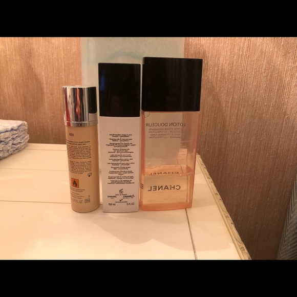 3f9da23d Chanel cleansing Christian Dior flash foundation